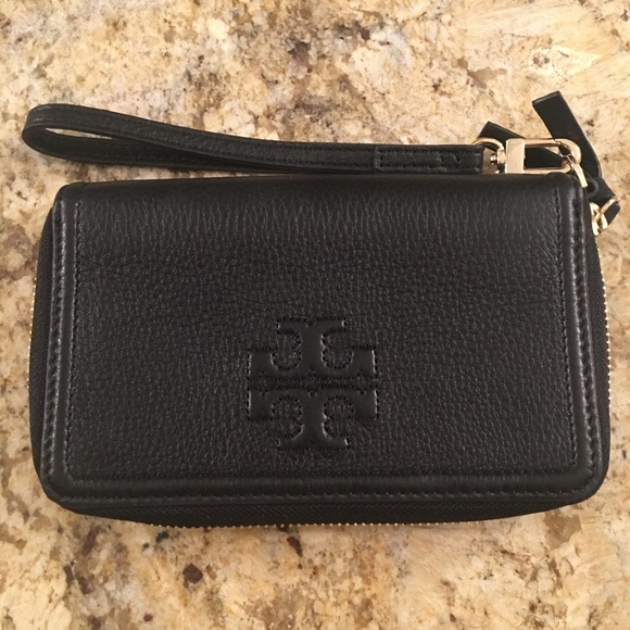 3b786792ff Tory Burch Bags | Thea Ziparound Smartphone Wristlet | Poshmark